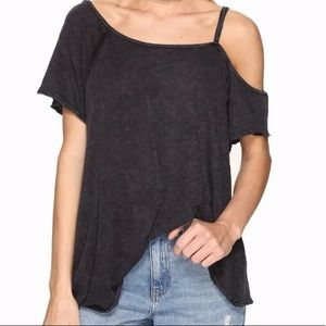 NWT Free People Coraline One Cold Shoulder Top
